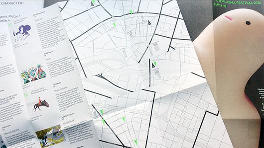 Character Walk Maps